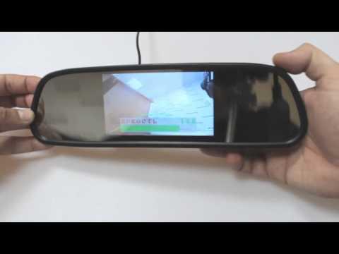 Автомобильный монитор-зеркало EC-505