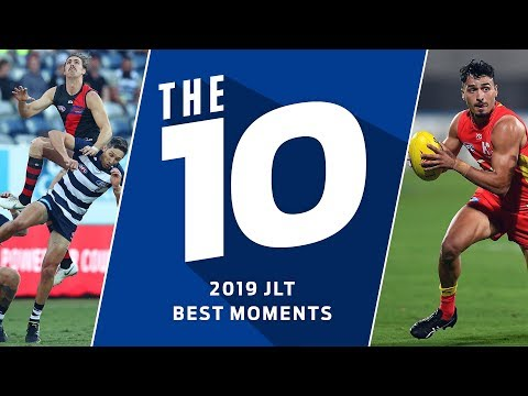 The 10: Best moments from JLT 2019   AFL