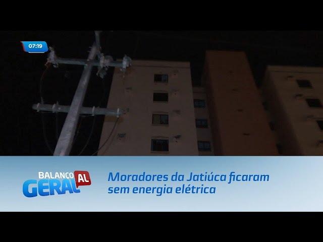 Moradores de um conjunto residencial na Jatiúca ficaram sem energia elétrica