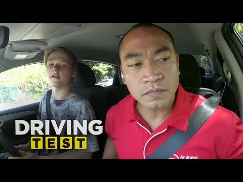 Learner fails everything during driving test  | Driving Test Australia