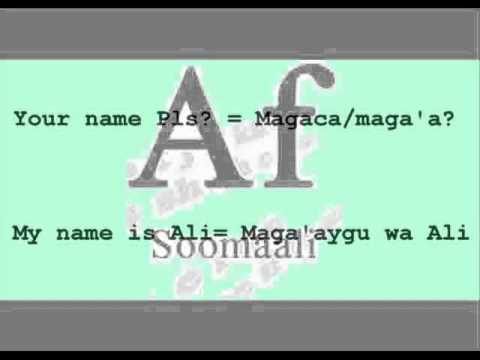 Somali Language greetings:Teach me Somali