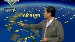 UH: Ihip ng Hanging Amihan, bahagyang humina ayon sa PAGASA