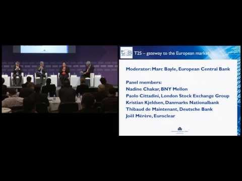 T2S Community session at Sibos 2013: T2S - gateway to the European financial market