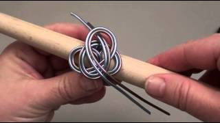 Repeat youtube video Bague et pendentif en fil d'alu