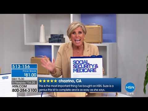 HSN | Suze Orman Financial Solutions for You 05.06.2018 - 09 AM
