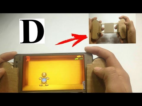 HOW TO MAKE A CONTROLLER FROM CARDBOARD?