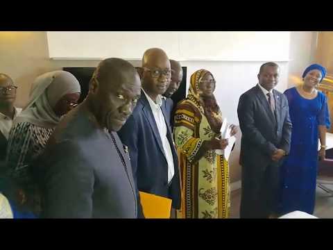 Le Ministre Du Tourisme En Visite Au Pullman Hotel Dakar