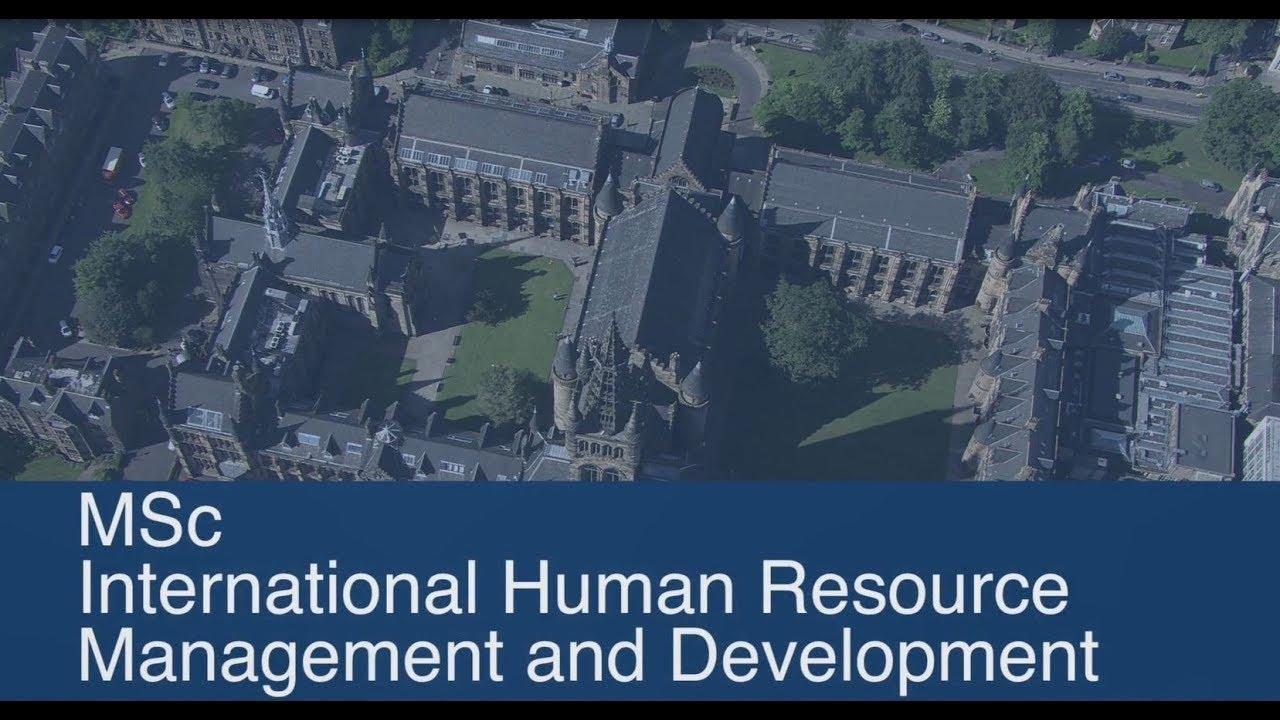 University of Glasgow - Postgraduate study - Taught degree