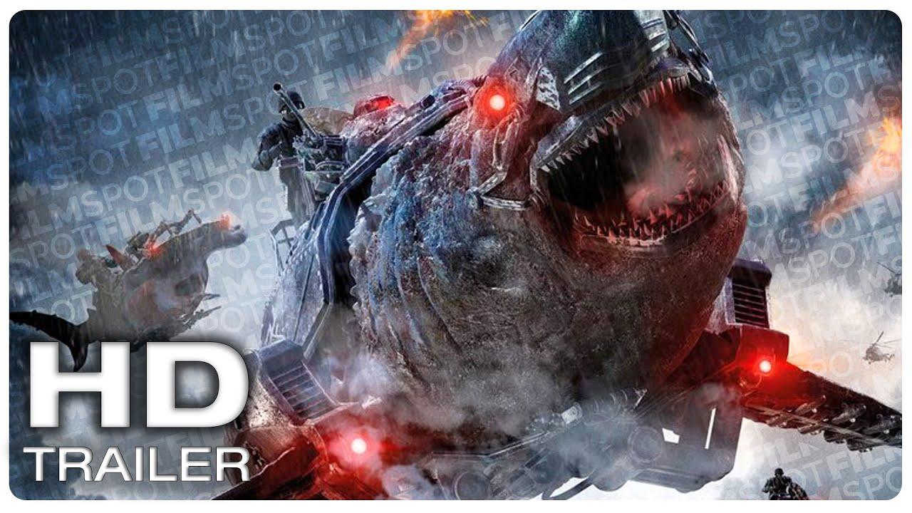 SKY SHARKS Official Trailer #1 (NEW 2021) Horror Shark Movie HD