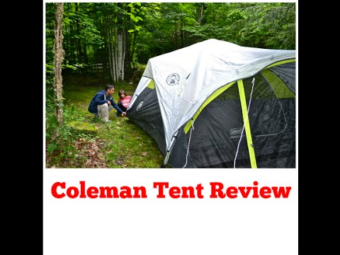 & Coleman Tent Review - 6 Person FAST PITCH™ - YouTube