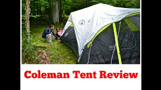 Coleman Tent Review - 6 Person FAST PITCH™
