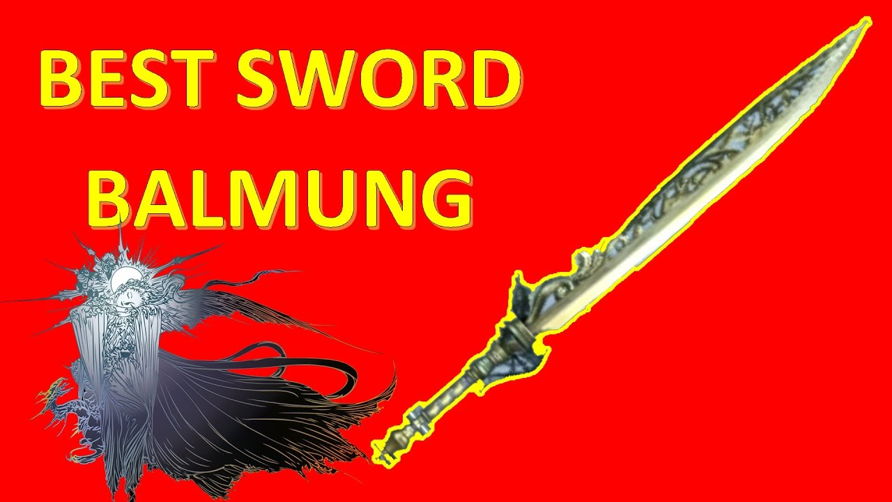 final fantasy xv best sword balmung best weapons locations guide