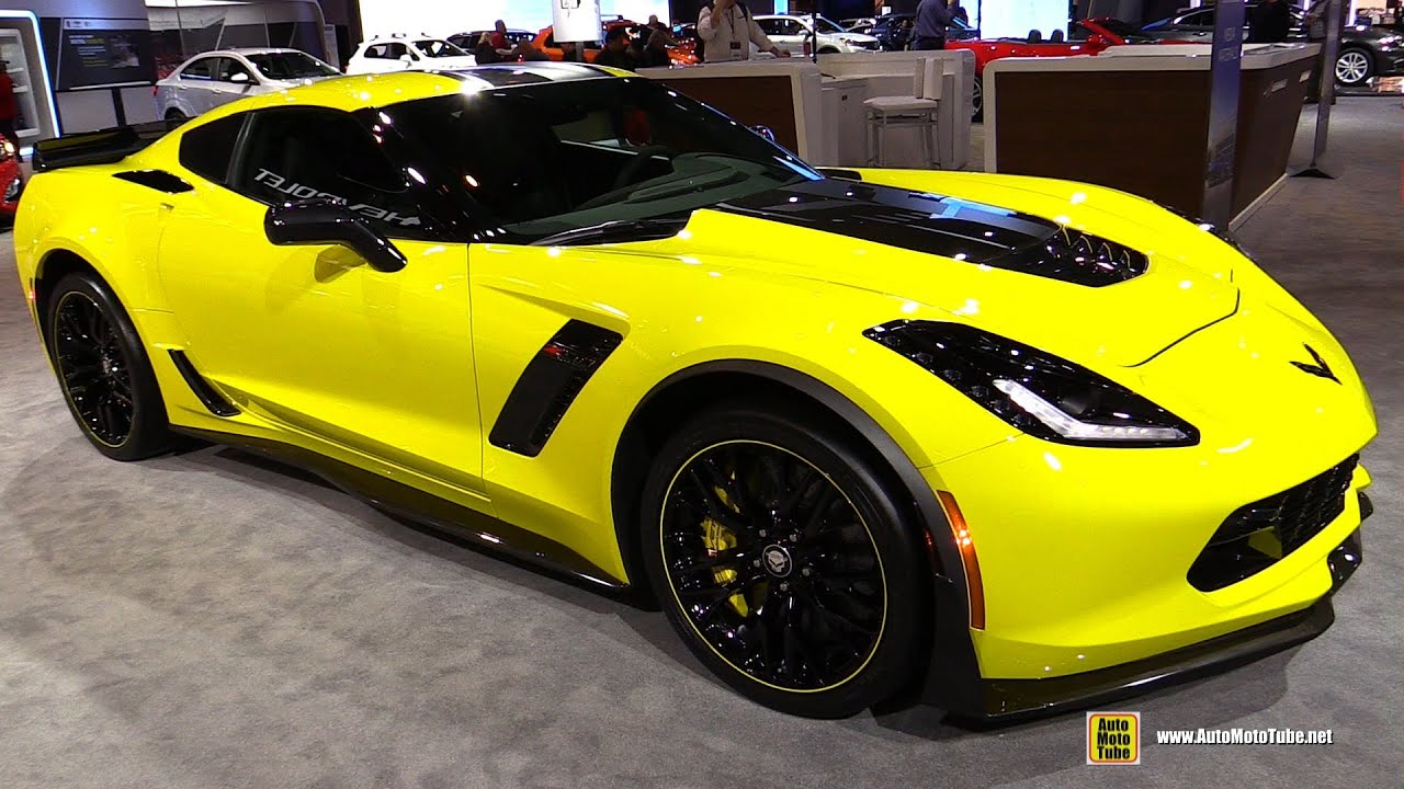 2016 chevrolet corvette z06 c7r exterior walkaround 2016 chicago auto show youtube. Black Bedroom Furniture Sets. Home Design Ideas