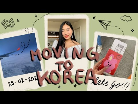 korea series   moving to korea, studying abroad, coronavirus, pack with me - ep.1