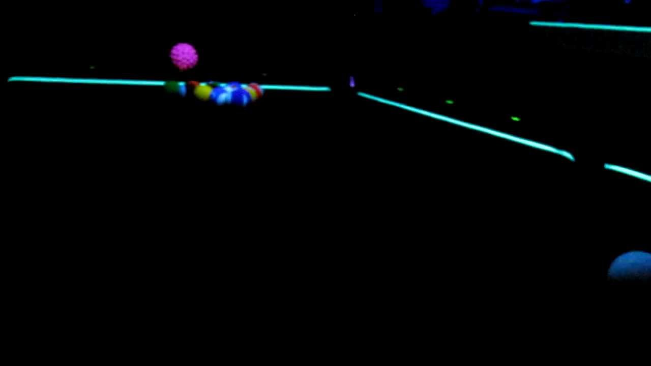 Aramith Glow In The Dark Pool Balls Billiards Set Fluorescent Black Light