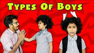 Types Of Boys In School | Moral Story Pari's Lifestyle |Funny Video