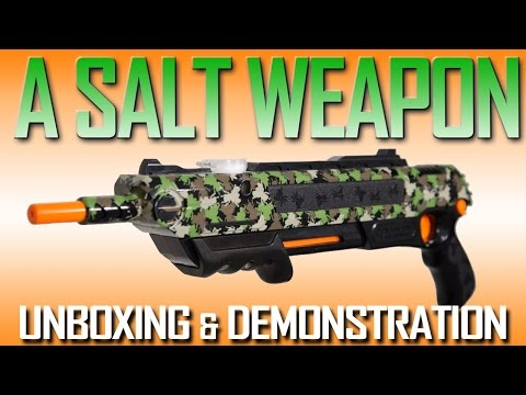 ASSAULT (Bug-a-Salt) WEAPON!!!  Unboxing and demonstration!  WOW!