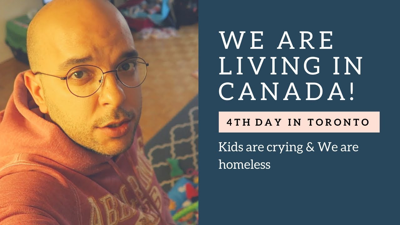 We Are Living in Canada - 4th Day in Toronto - Kids are ...
