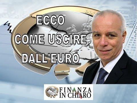 ECCO COME USCIRE DALL'EURO!!!