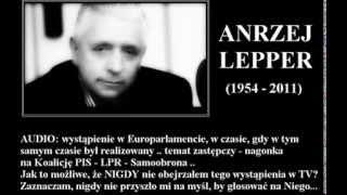Andrzej Lepper   czy popełnił samobójstwo?