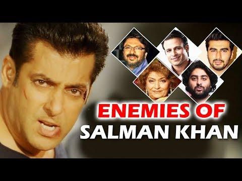 BIGGEST Enemies of Salman Khan In Bollywood - Shocking