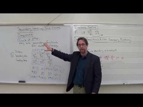 Dr. B Music Theory Lesson 38 (Advanced Secondary Functions)
