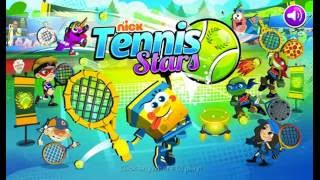 NICK TENNIS STARS | CARTOON KID GAMES