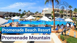 Полный обзор отелей Naama Bay Promenade Beach Resort 5 и Promenade Mountain 5 Ex Marriott Sharm