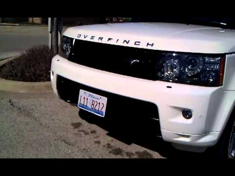 range rover exotic customs motorized hide away license plate kit