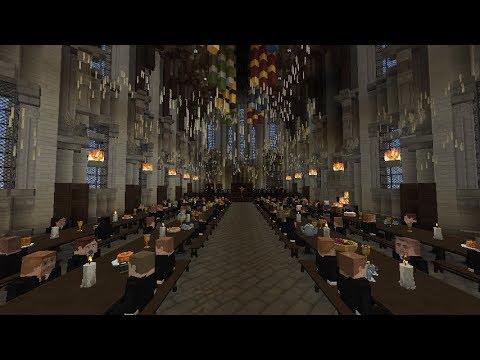 Arrival At Hogwarts (Upcoming Vanilla Minecraft Map)