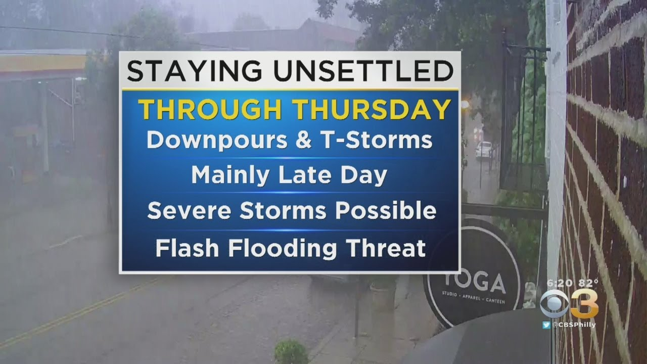 Philadelphia Weather: Severe Thunderstorm Watch Issued For ...