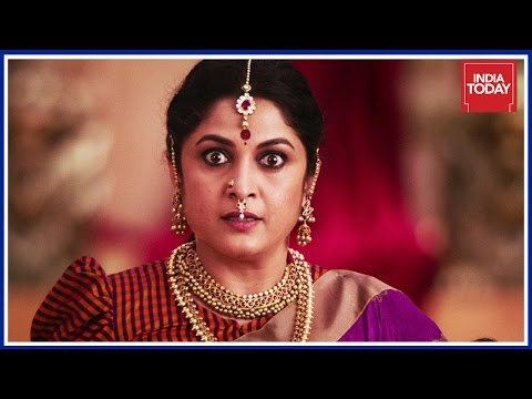 Ramya Krishnan Recreates The Iconic Scene OF Baahubali On India Today