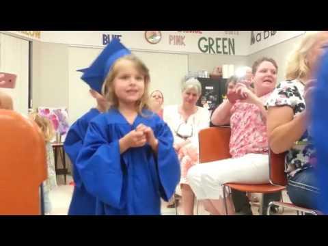 YMCA Learning Tree Preschool graduation ceremony.