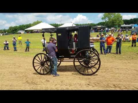 Jet Powered Amish Buggy