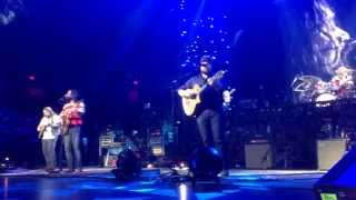 Zac Brown band in concert in Detroit at joe Louis arena on January 1, 2014