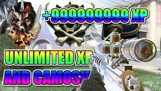 BLACK OPS 2 UNLIMITED XP AND UNLOCK ANY CAMO GLITCH! BO2 UNLIMITED XP LOBBY GLITCH! BO2 CAMO GLITCH!