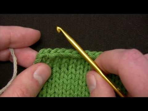how to join reverse single crochet