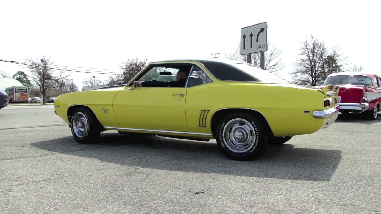 1969 Daytona Yellow Camaro For Sale - YouTube