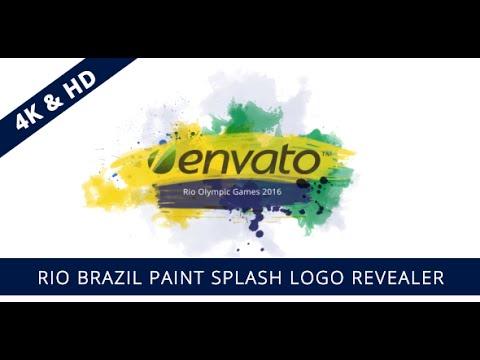 After effects paint splatter template