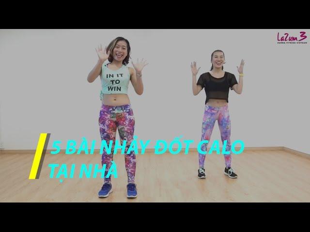 5 bài nhảy Zumba đốt calo giảm mỡ cực nhanh tại nhà | Zumba giảm cân | Zumba dance for weight loss |