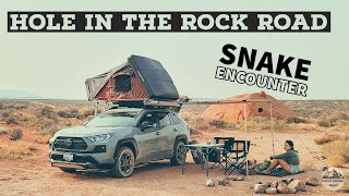RAV4 Overland Adventure iฑ Utah | Pt. 3 Hole in the Rock Road