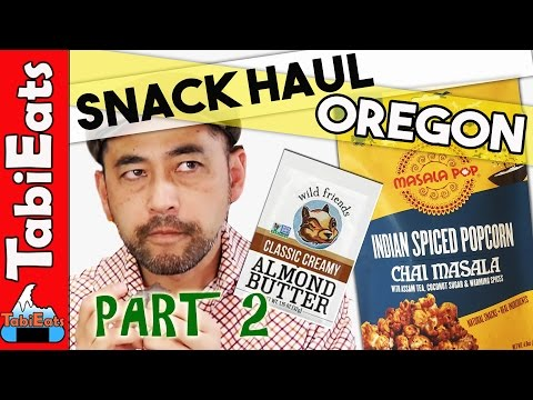 Japanese Try American Snacks (Oregon, USA) PART 2