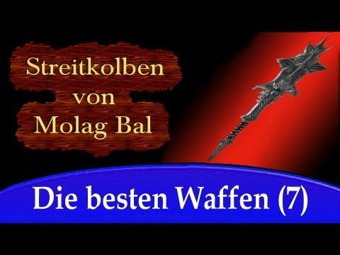 Die besten Waffen von Skyrim - Streitkolben von Molag Bal (daedrisches Artefakt)