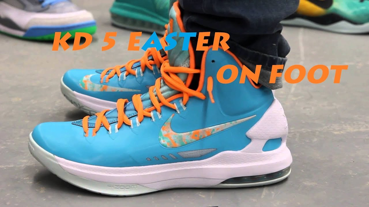 KD 5 Easter - On Foot Review - YouTube