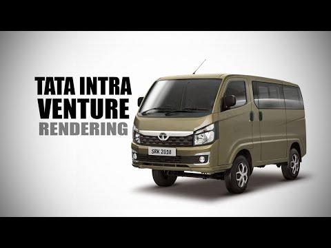 Tata Intra Venture Van - Rendering - Making Video | SRK Designs