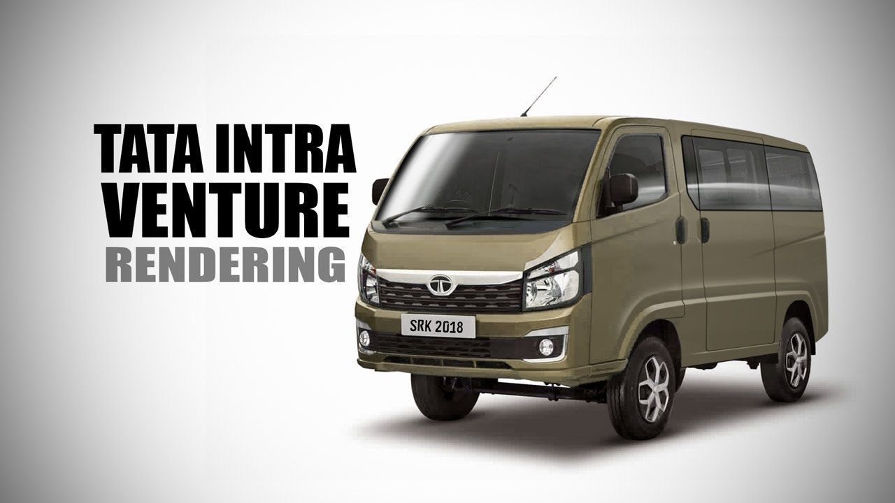 77733c640c Tata Intra Venture Van - Rendering - Making Video