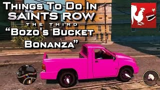 Things to do in_ Saint's Row 3 - Bozo's Bucket Bonanza