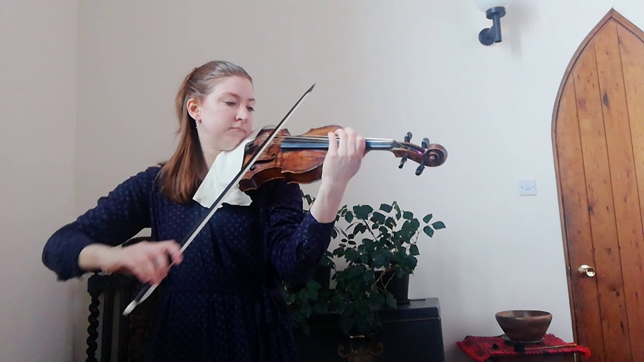 """Catch up with our violinist Magda's Solo """"Bite-Size Baroque""""!"""