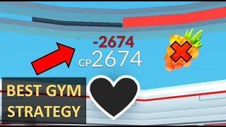 BEST STRATEGY TO TAKE DOWN GYMS IN POKÉMON GO- 100% EFFECTIVE!