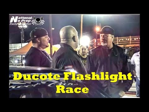 Bobby Ducote flashlight start by Death Trap Chuck vs Birdman at Street Outlaws No Prep